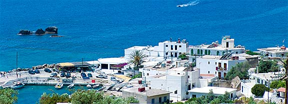View Four Seasons apartments, Sfakia, Crete